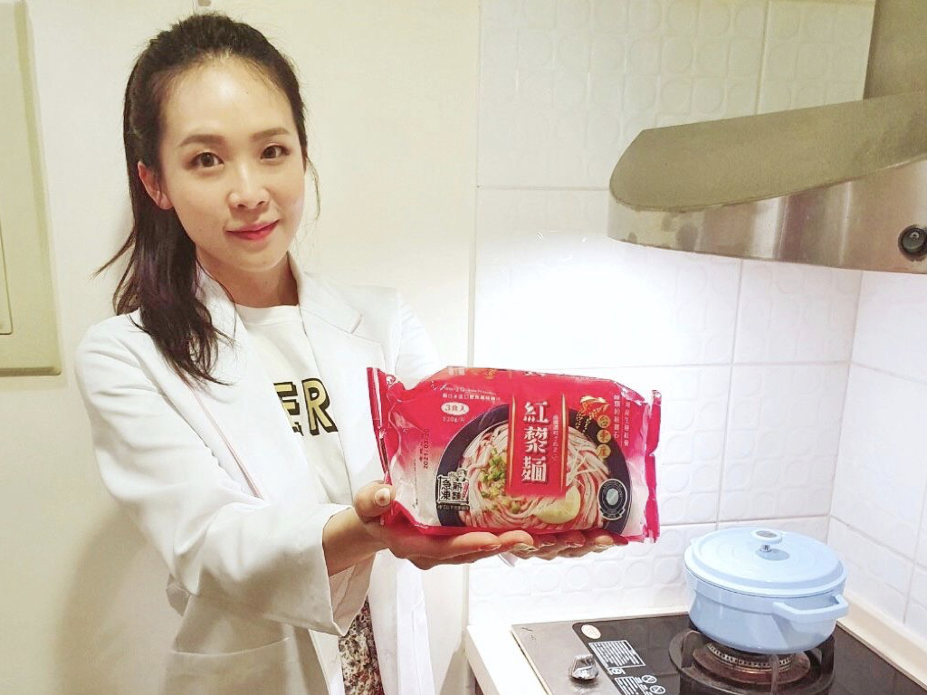 營養師-推薦-南僑讚岐急凍熟麵-紅藜麵